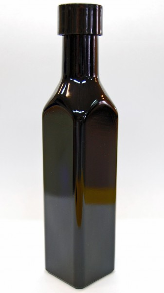 Violettglasflasche rechteckig 0,25 L