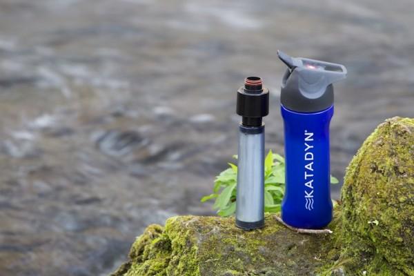 Katadyn Bottle Purifier Blue Splash