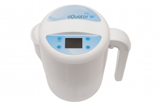 Water Ionizer aQuator silver + lid. Great offer!