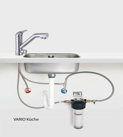 Carbonit Vario Kitchen with WS6