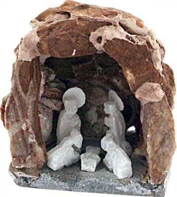 Krippe Grotte 4 cm, Unikat