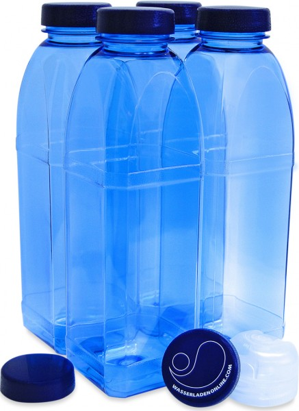Eight corner bottle 4 x 1,0 l