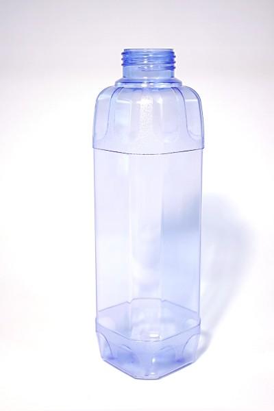 TRITAN Trinkflasche 1 Liter, eckig