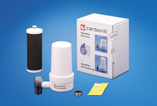 Carbonit GO Travel long Reisefilter