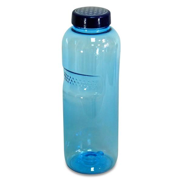 Trinkflasche 0,75 L. rund, Blume des Lebens