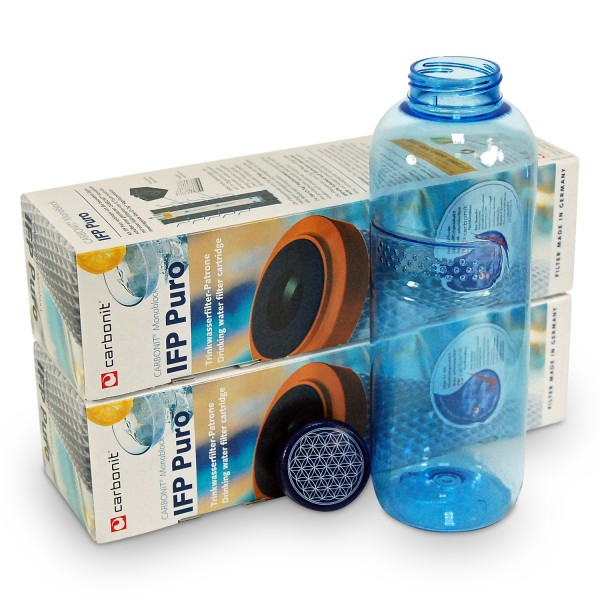 2 x Carbonit IFP Puro + Flasche