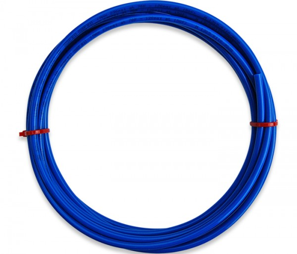 LLDPE-Rohr 1/4 Zoll in blau 5 meter