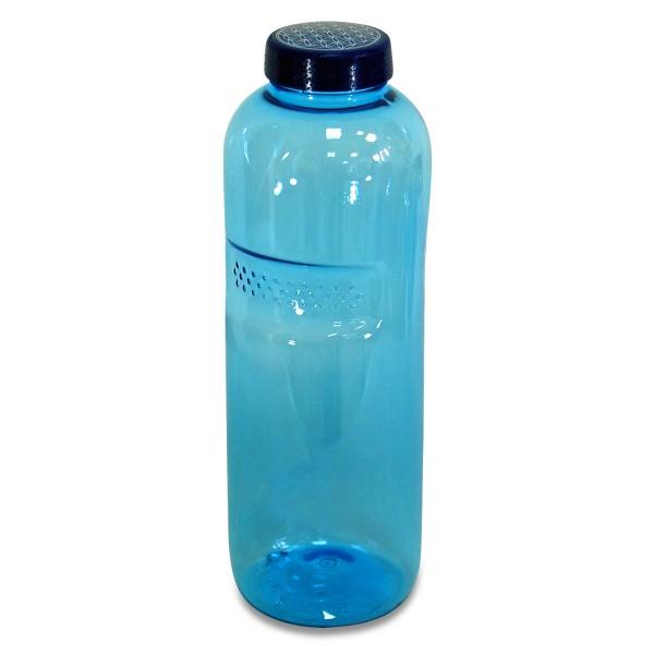 Trinkflasche 1 L. rund, Blume des Lebens