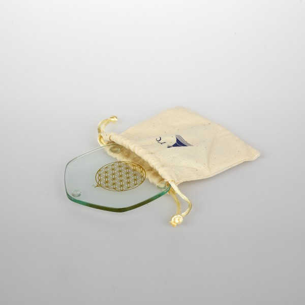 Energy plate gold Ø 9 cm