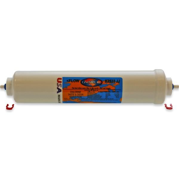 Omnipure K2533 JJ Inline-Carbon Filter