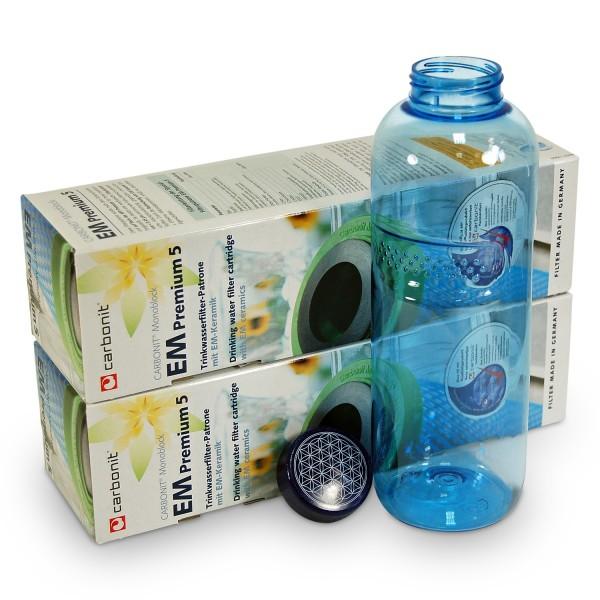 2 x Carbonit NFP Premium EM + Bottle