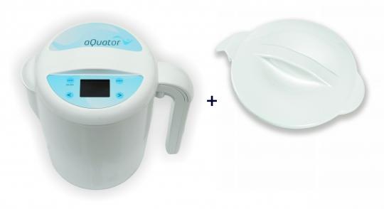 TOP Angebot! Wasserionisierer aQuator silver+Deckel