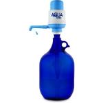 Glasflasche 5 L. mit Wasserpumpe Standard