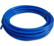 """LLDPE-Rohr 1/4"""" in blau 10 meter"""