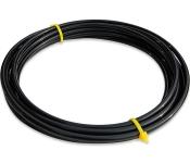 """LLDPE-Rohr 1/4"""" in schwarz 5 meter"""