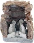 "Krippe ""Grotte"" 7 cm, Unikat"