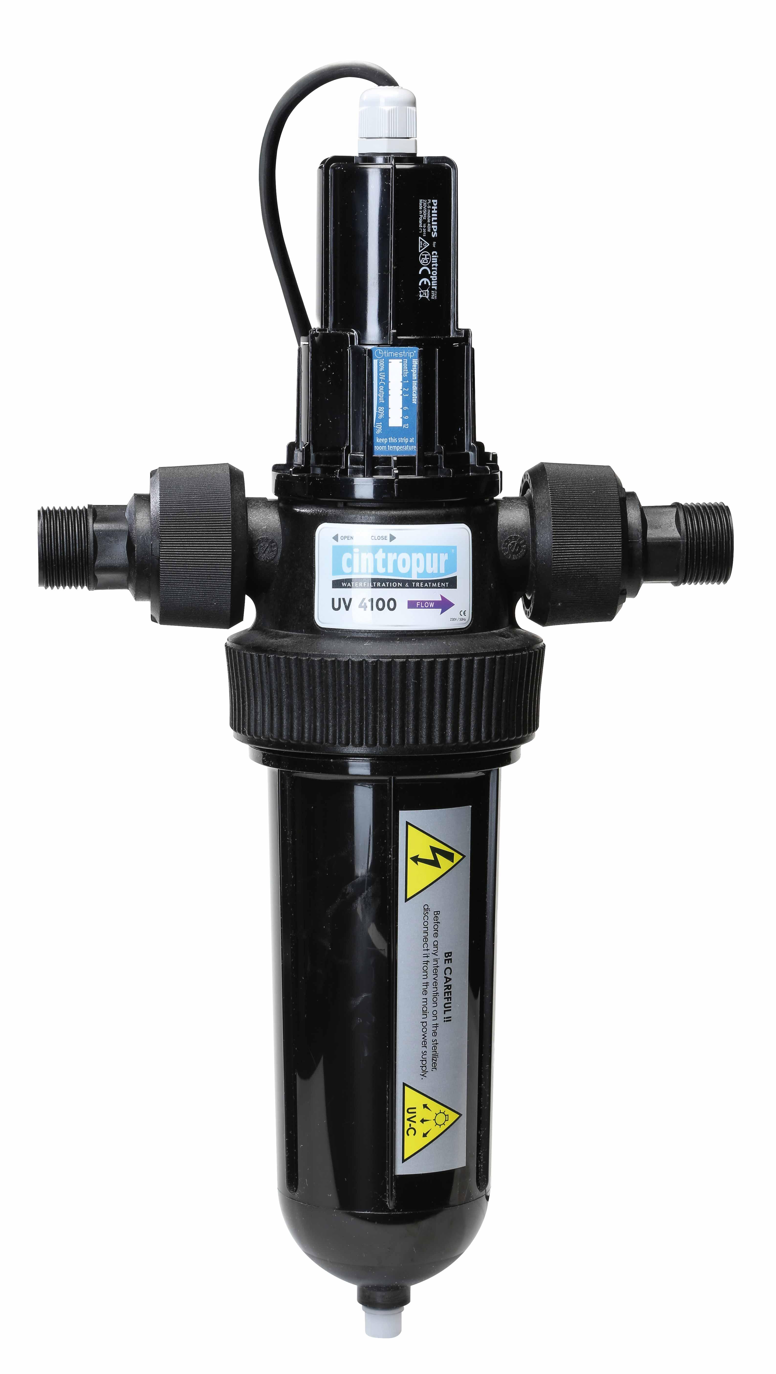 Wasserladenonline com | Cintropur 4100 UV-sterilization 3/4